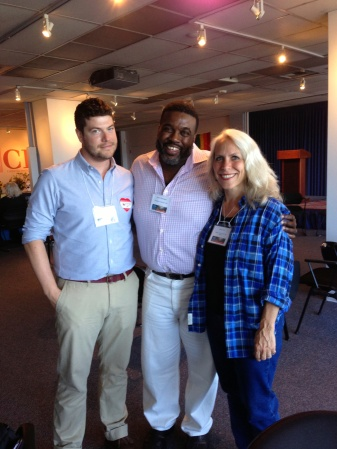 Robyn, with Dustin Smith & Dr. Jamie Washington at the Expanding the Circle Conference
