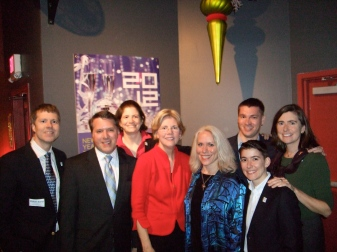 Robyn w/Sen. Elizabeth Warren & Members of MassEquality's Board and Staff