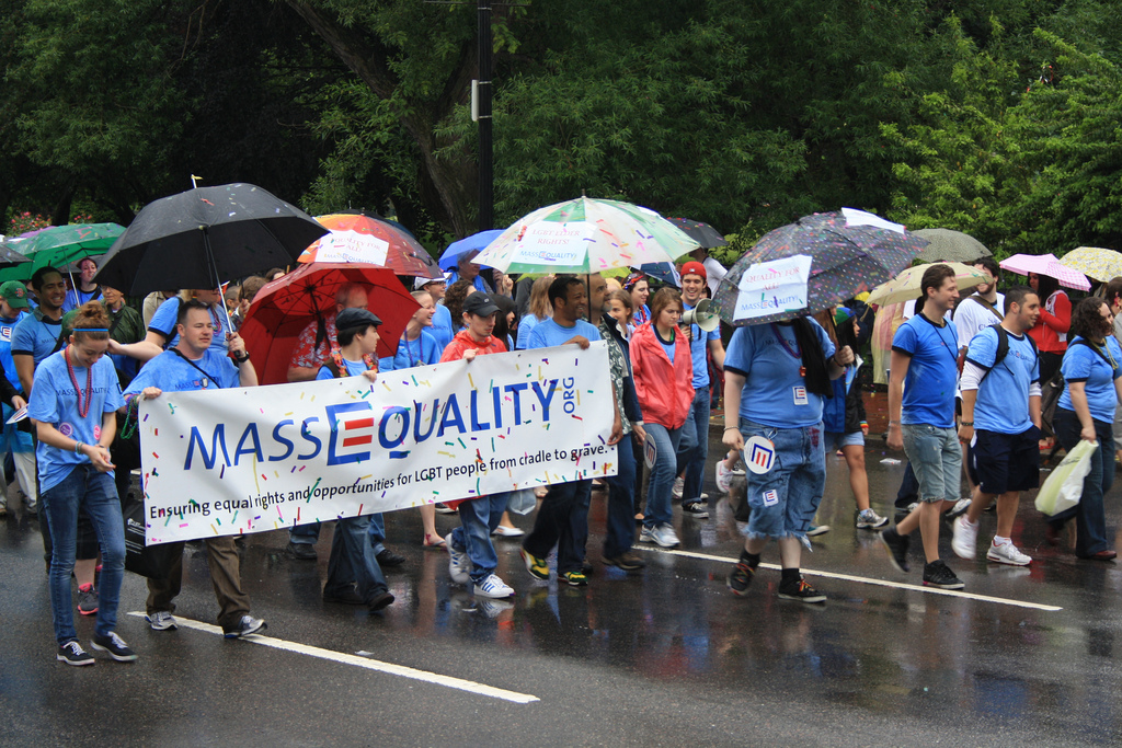 MassEquality march for LGBT rights