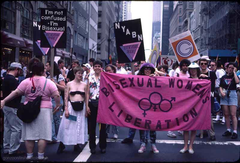 Bisexual pride parade